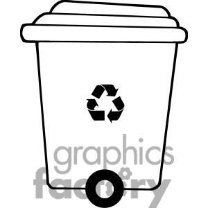 Recycle Trash Can Clipart Royalty Free Clipart 379660 Clip