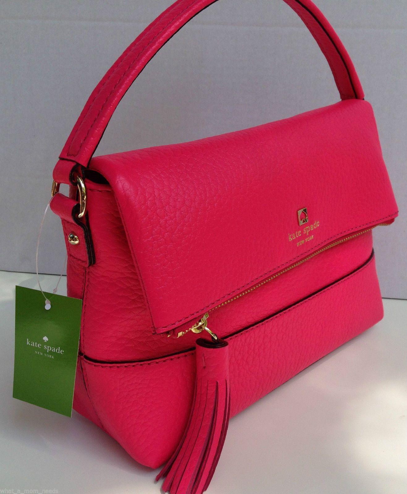 5223773e1b4a New Kate Spade Southport Avenue Mini Carmen Leather Purse