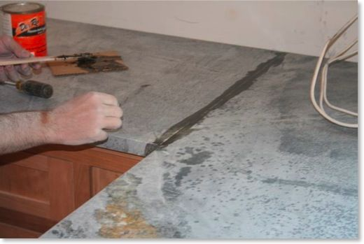 Because Soapstone Has A Relatively Small Slab Size It Is Common
