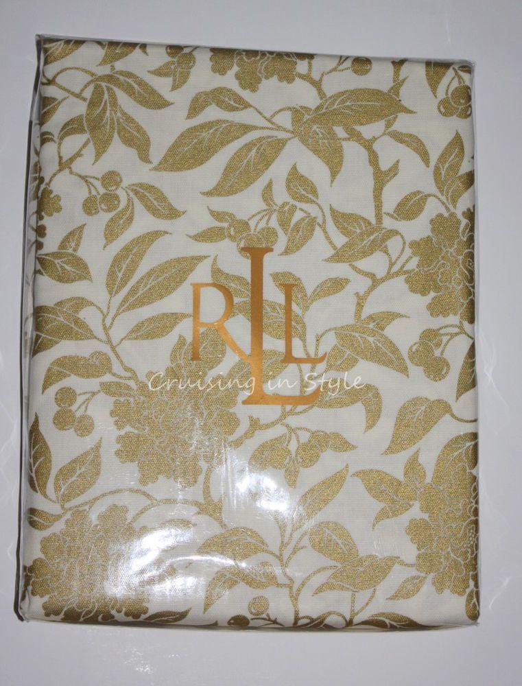 Wonderful Ralph Lauren Table Linens Part - 4: Ralph Lauren Tablecloth Paisley Rust 70 X 104 Cloth Damask Table Linen