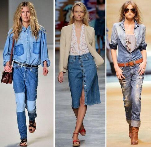 Moda jean primavera - verano 2010. | Mujeres, moda, diseño, belleza ...