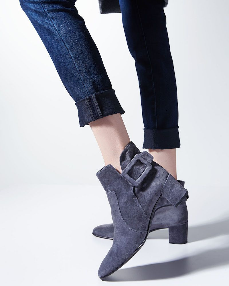 Roger Vivier Polly suede ankle boots IGkXo