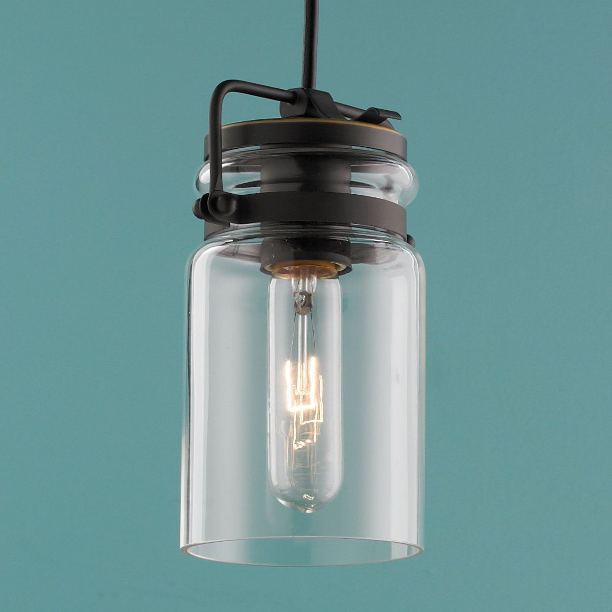 Modern mason jar pendant light pendant lighting modern and lights