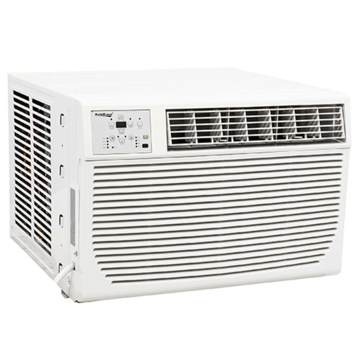 koldfront 12,000 btu window air conditioner with supplemental heat