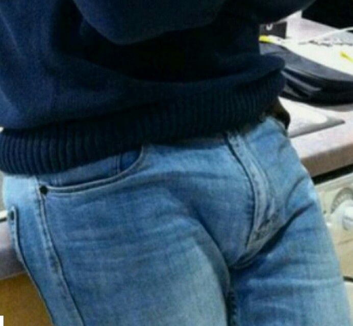 Denim bulge