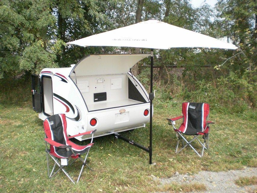 Little Guy Teardrop Camper Awning   Teardrop trailers ...