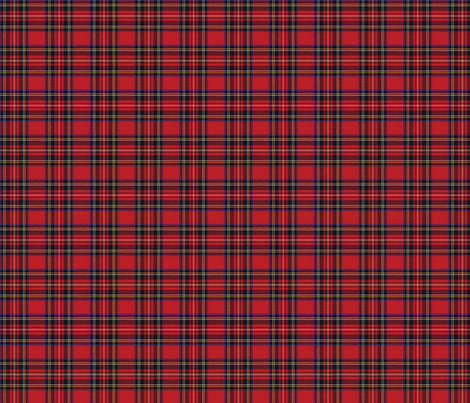 Royal Stewart Tartan fabric, wallpaper or wrapping paper
