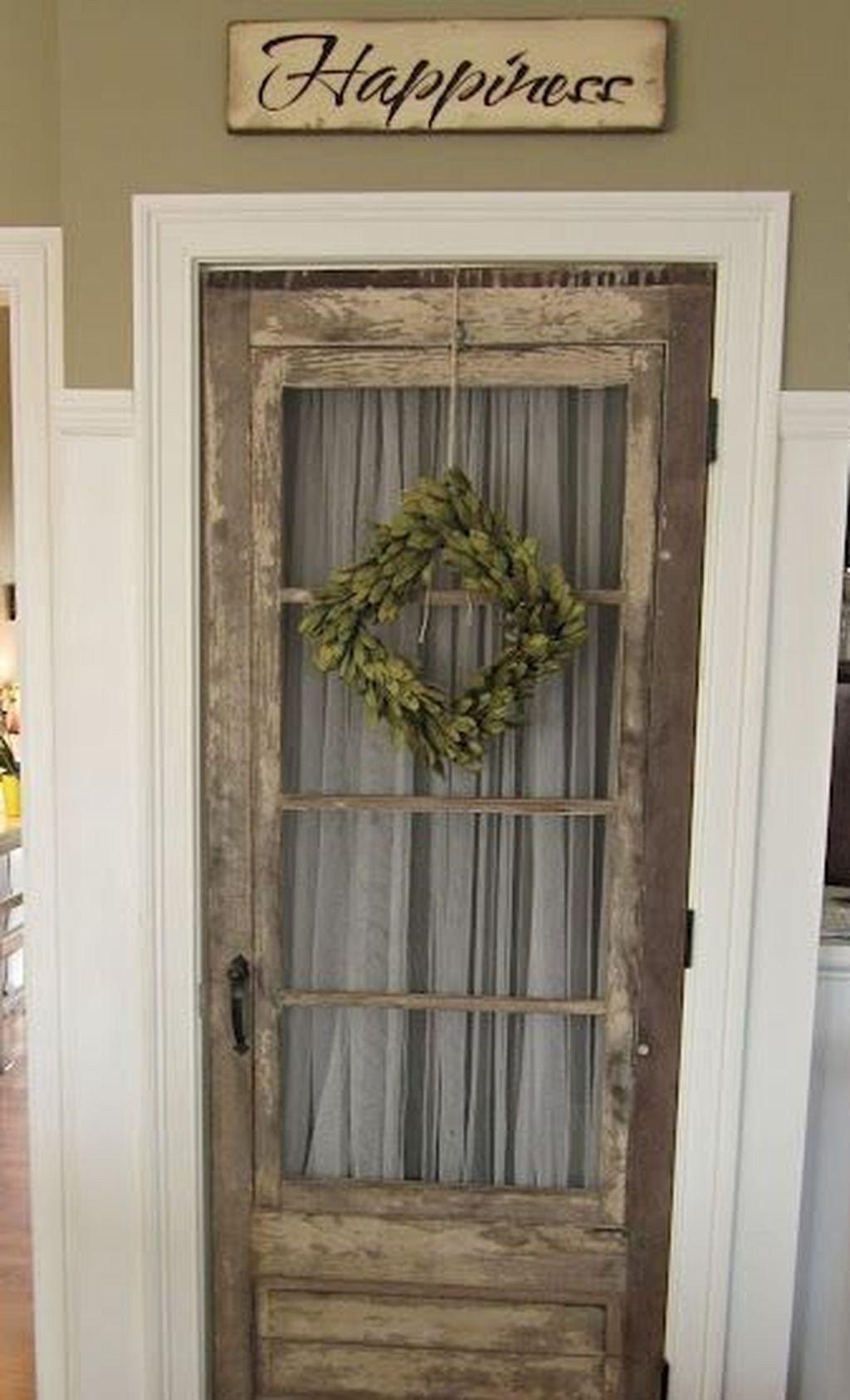 47 Best Exterior Door Ideas For Home Looks Amazing Decoomo Com Unique Rustic Decor Antique French Doors Primitive Decorating Country