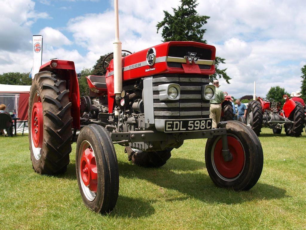 Massey Ferguson 175 Multi Power Farm Tractors - 1964   by imagetaker!