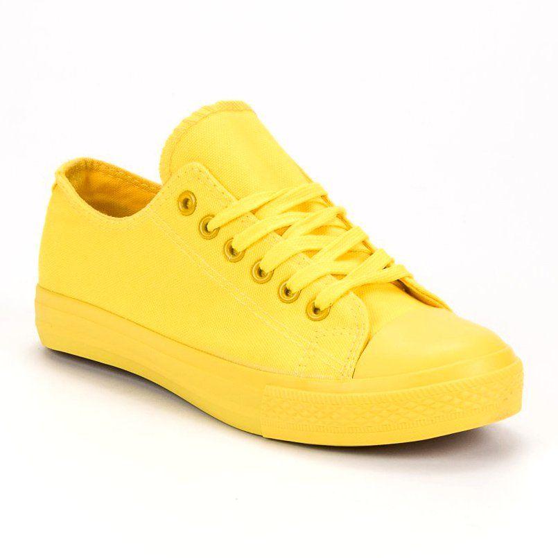 Sport Zolte Trampki Shoes Sneakers Tretorn Sneaker