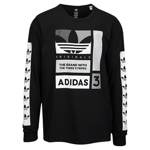 dd5961ab48ea adidas Originals Graphic Long Sleeve T-Shirt - Men's at Champs Sports