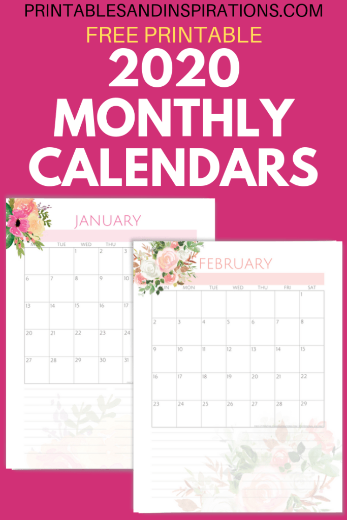 Your Free 2020 Pink Life Planner Printable Is Here Printables And Inspirations Planner Printables Free Printable Planner Weekly Planner Free Printable