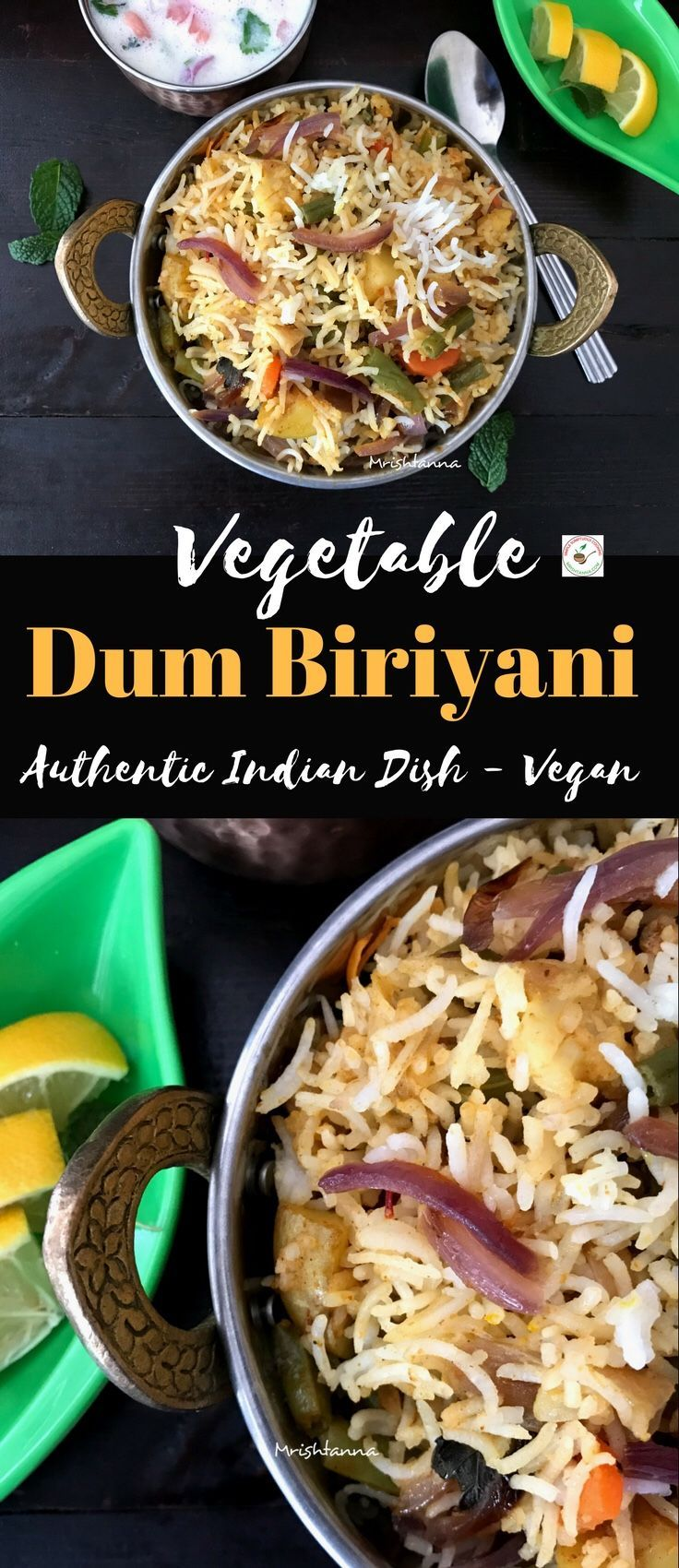 Vegetable dum biryani recipe vegans recipes and food forumfinder Image collections