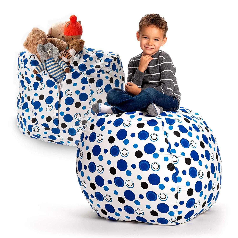 Creative qt stuffed animal storage bean bag