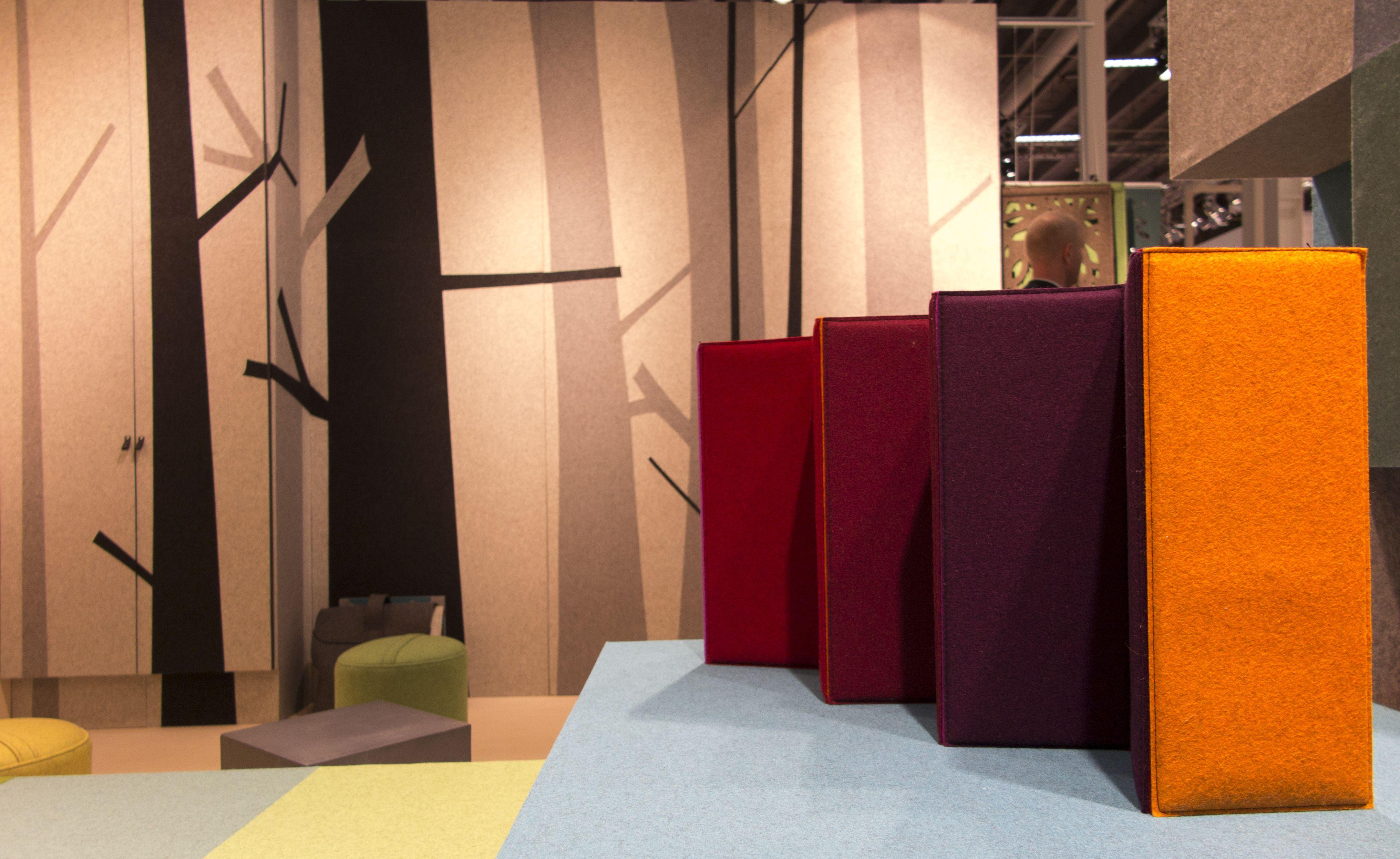 fraster filt som dekoration p v g p stockholm furniture fair indretning med filt. Black Bedroom Furniture Sets. Home Design Ideas