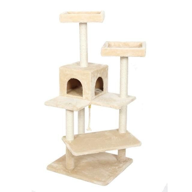 Cat Toys Cat House Animal Climbing Frame Multi-layer Cat Tree Cat ...