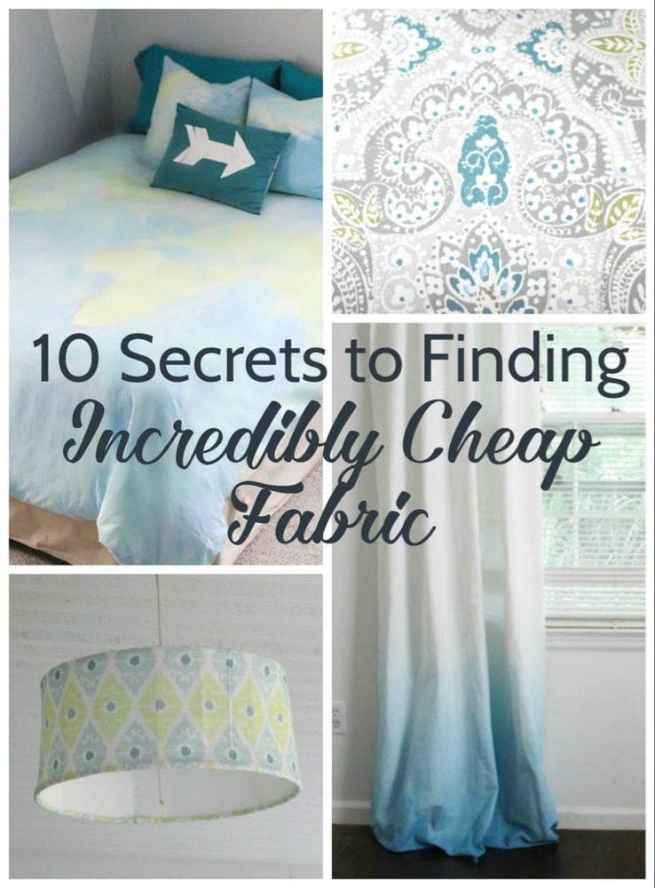 Photo of 10 Geheimnisse für die Suche nach unglaublich billigen Stoffen – Lovely Etc.