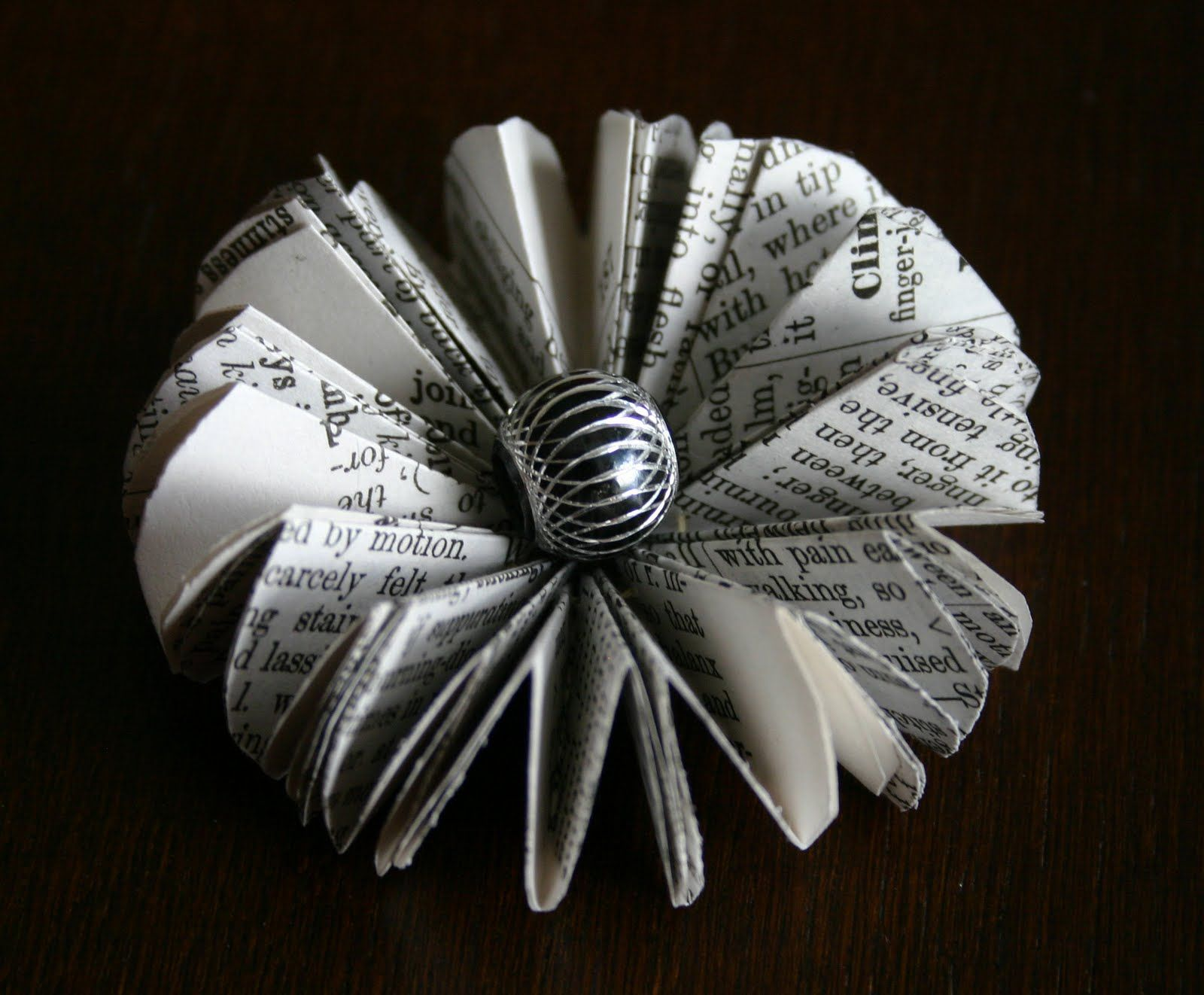 Ive Been Making Flowers Out Of Book Pages Lately Here Are Some