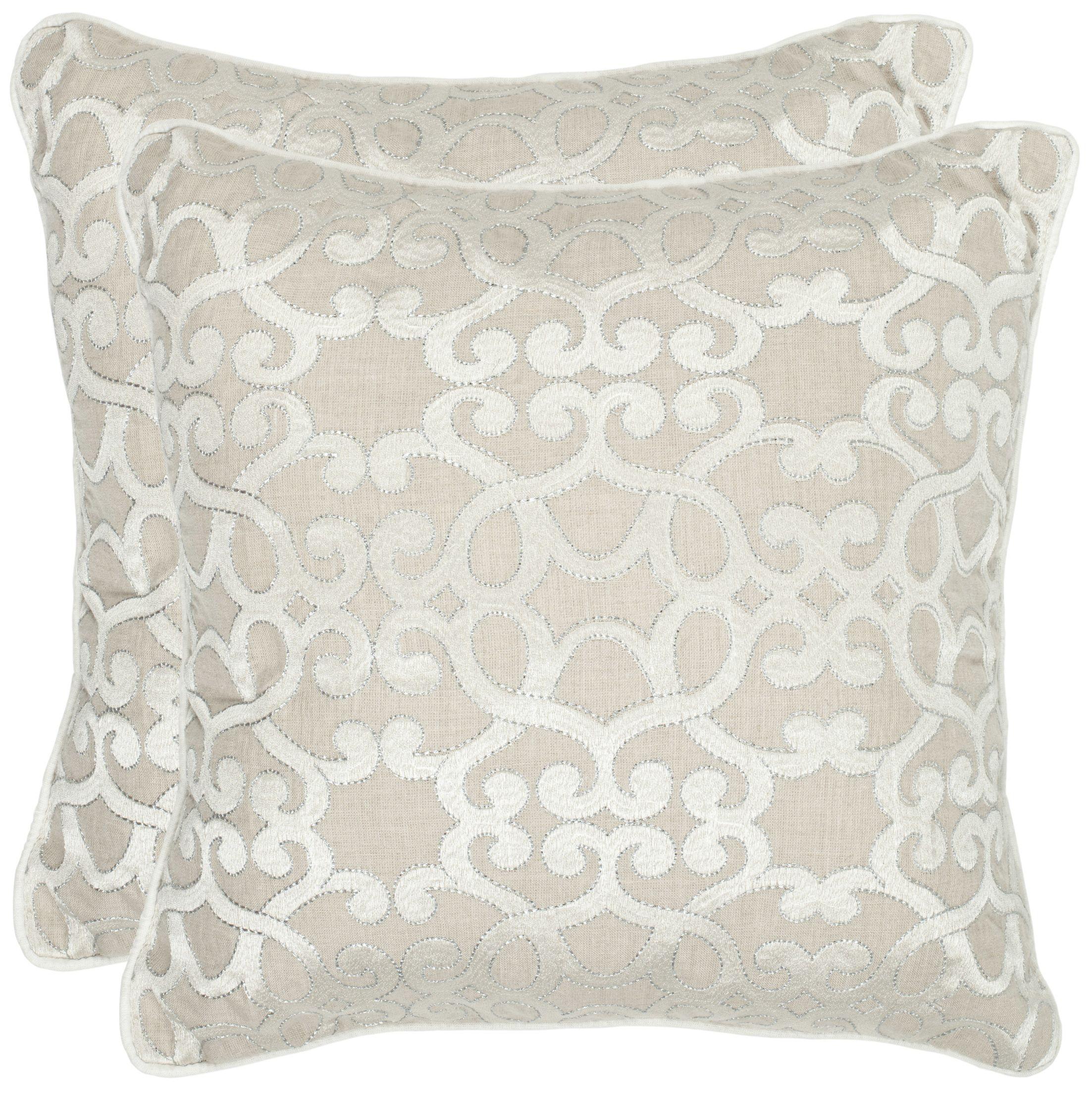 Madison Linen Throw Pillow