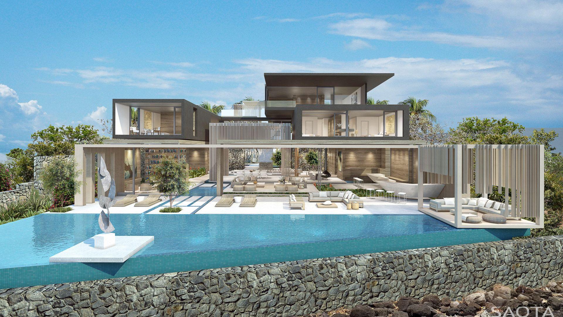 House design mauritius - Mauritius House By Saota Stefan Antoni Olmesdahl Truen Architects