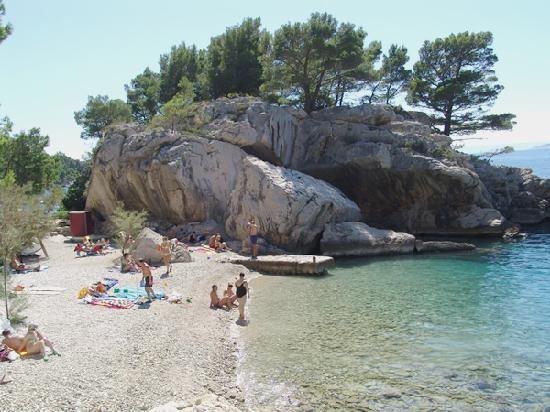 Brela Beach Split Reviews Of Brela Beach Tripadvisor Croatia Beach Beaches In The World Brela