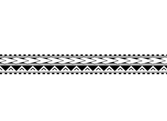 Drawing Lines Band : Polynesian arm band tattoo by xsiiana viantart on