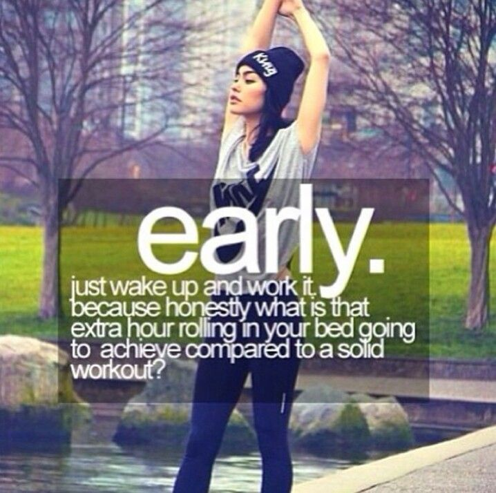 Early morning fitness workout before you body realizes what your doing to it :)