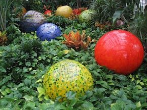 Dale Chihuly At The Columbus Ohio Botanical Gardens Glass