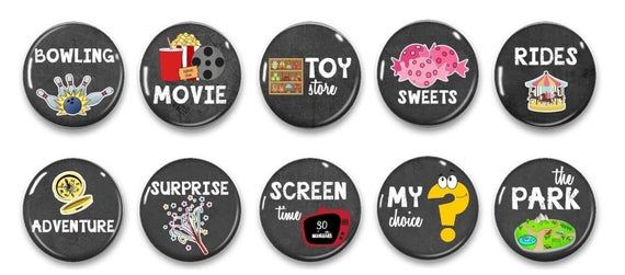 Photo of Kids Reward Magnets – Chore Magnets – Kids Chore Rewards – Kids Incentives – Kids Rewards – Chore Chart – Family Activities