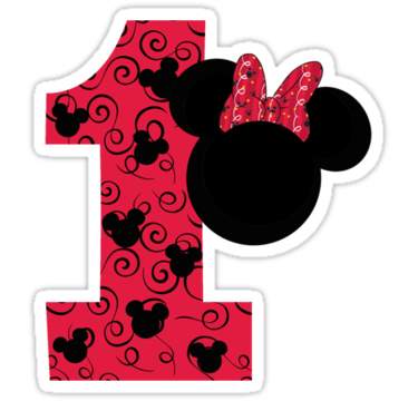 First Birthday Minnie Mouse By Com Imagens Lembrancinhas