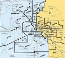 tucson arizona zip code map free Zip Code Map Tucson Az Tucson Zip Code Map Park Forest