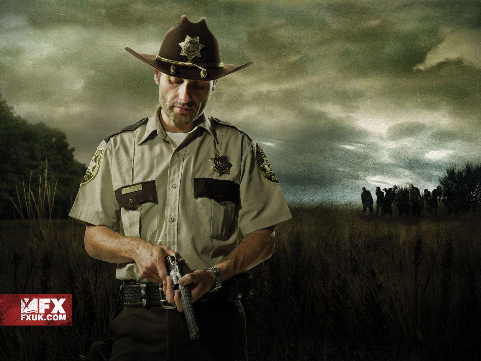 The Walking Dead Rick Grimes Sheriff Uniform Season 1 Lori