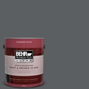 Behr Premium Plus Ultra 1 Gal N500 6 Graphic Charcoal
