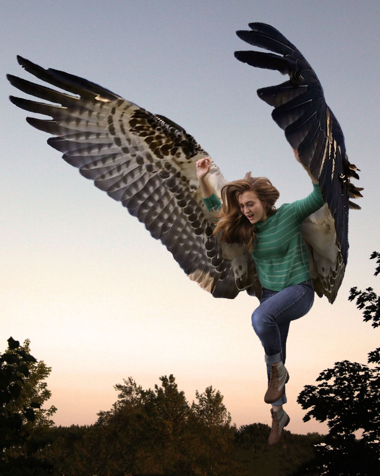 Character design inspiration maximum ride winged people