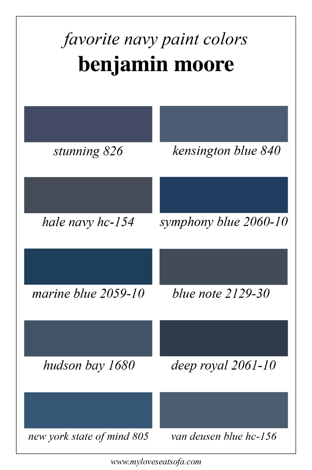 Benjamin Moore Exterior Paint Color Chart Luxury Favorite Navy Blue Benjamin Moore Paint C Navy Blue Paint Colors Navy Paint Colors Paint Colors Benjamin Moore
