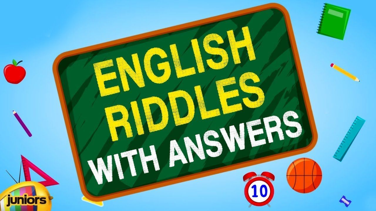 Riddles English Riddles With Answers Brain Teasers For