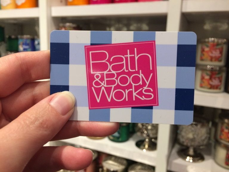 bath and body gift card discount