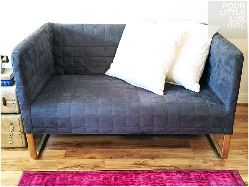 Ikea Knopparp Small Loveseat Diy Hack Small Loveseat Love Seat Small Couch In Bedroom