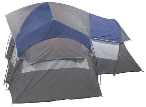 tents for c&ing with screen room with lights and fan   Coleman 3-Room 8  sc 1 st  Pinterest & tents for camping with screen room with lights and fan   Coleman 3 ...