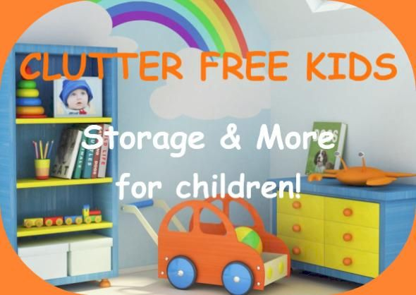 Great place to find storage solutions for all the kids toys, books ...