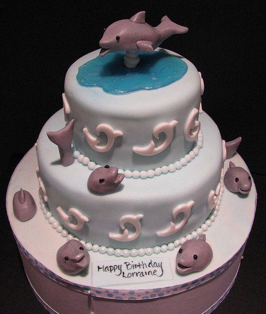 Best 25 Dolphin Birthday Cakes Ideas On Pinterest