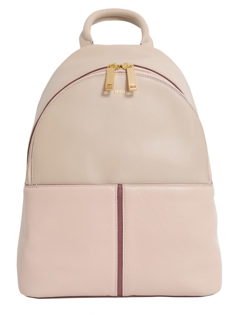 da3b1498aa Pink Leather Canvas Backpack- Fenix Toulouse Handball
