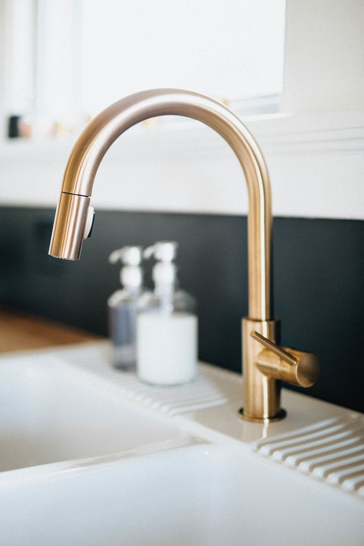Gold Wasserhahn Küche in 2019 | Wasserhahn küche ...