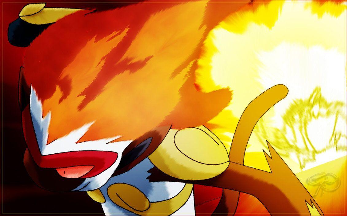 Ash Infernape Flare Blitz Old Pokemon Pokemon Pokemon Alola