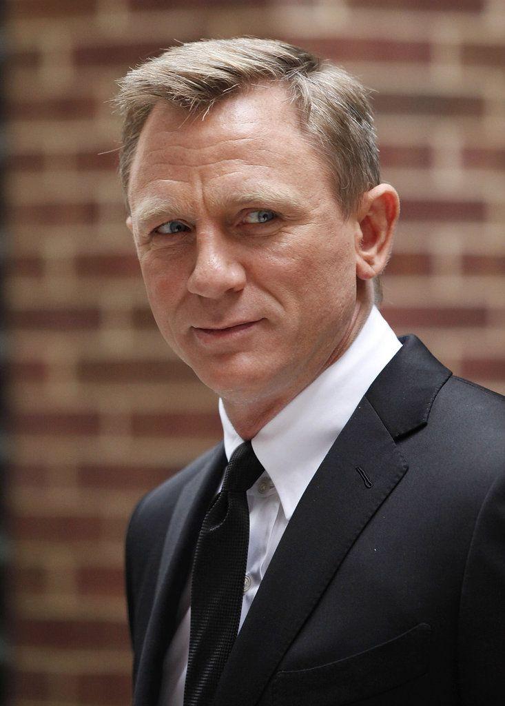 Daniel Craig Hairstyle : daniel, craig, hairstyle, Daniel, Javier, Girls, Skyfall's, First, Photocall, Craig, James, Bond,, Spectre,