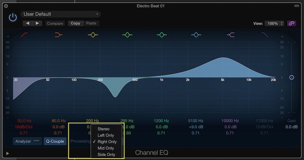 Logic Pro X S Channel Eq Become A Power User Logic Pro Logic Pro X Logic Pro Logic