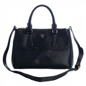 £131.00 Sale Prada Classic Saffiano Leather Medium Tote Bag Bn1801 Black  Store New York e03a9bca5f52c