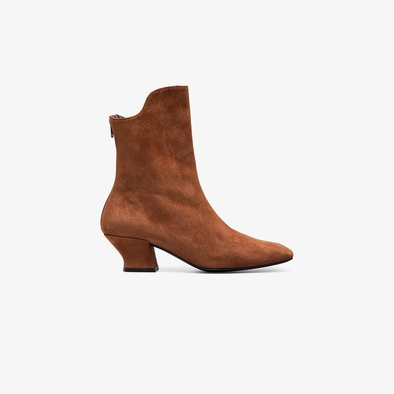 With Paypal Sale Online DORATEYMUR Han 50 leather ankle boots Sale Popular yeKIqX