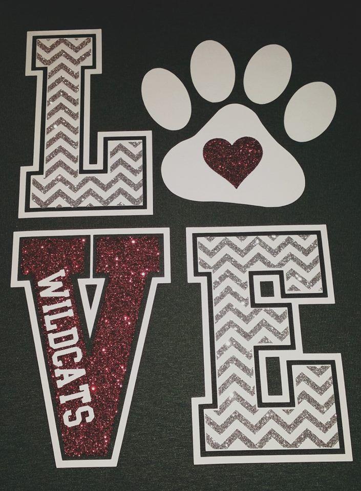 craft - Cheer Shirt Design Ideas
