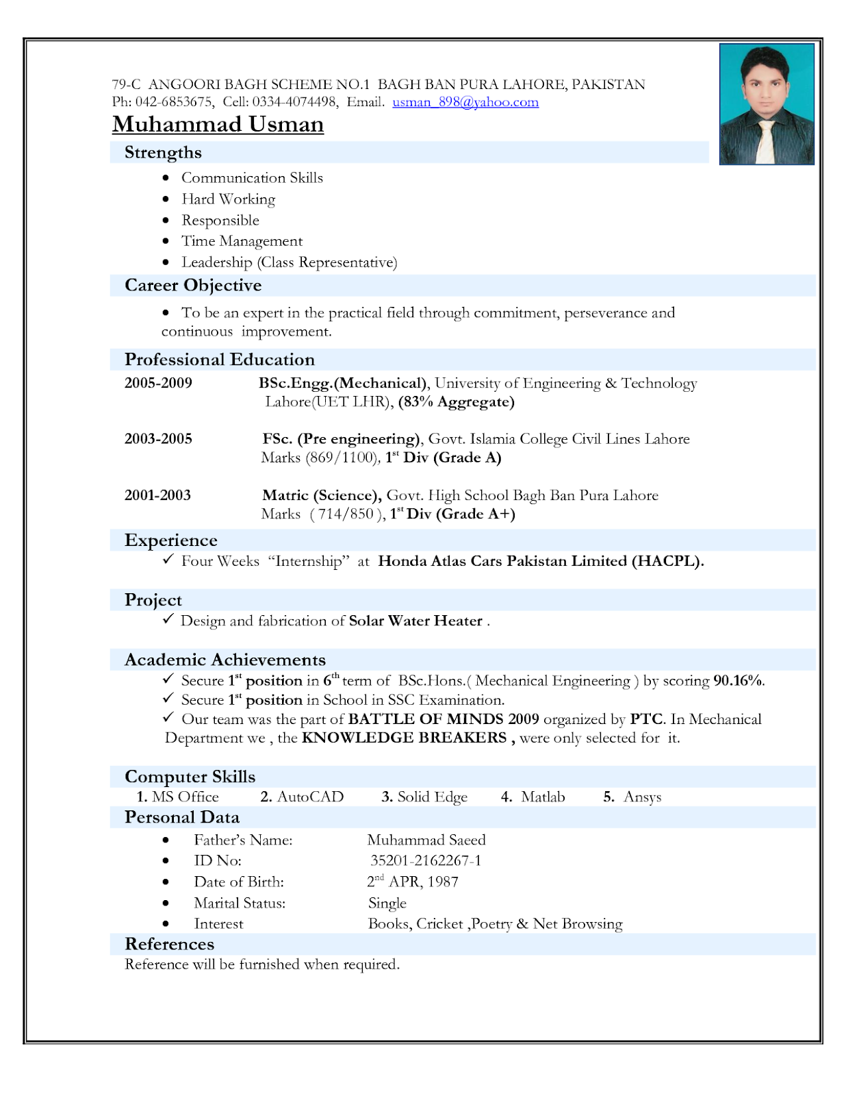 Mechanical Engineering Cv Format Mechanical Engineering Cv Format For Fresher Pdf Mechani Resume Format Download Resume Format For Freshers Job Resume Format